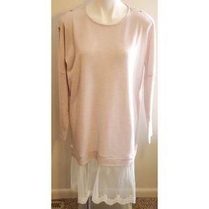 Lauren conrad dusty rose sweater dress
